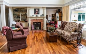 MC Brampton Flooring picture of a home fully furnished with hardwood flooring