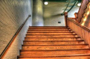 MC Brampton hardwood stairs completed installation