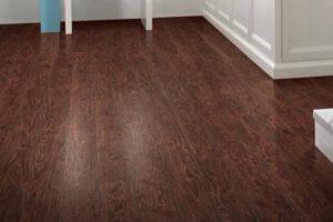 Best hardwood flooring Brampton final wood installation in a room.